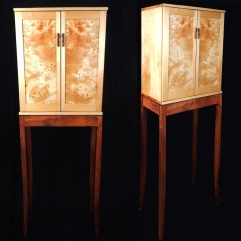 Huon Pine - Krenov Style Cabinet -web 1